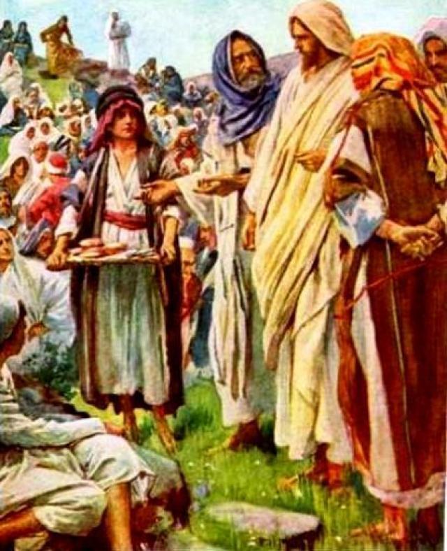 LOS TEXTOS DE LAS ACCIONES DE JESUS Y LOS MILAGROS
