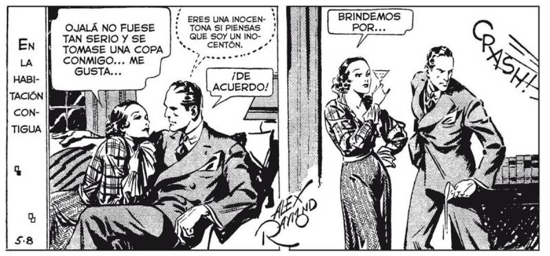 Dashiell Hammett al cómic
