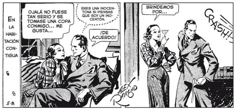 Dashiell Hammett al cómic