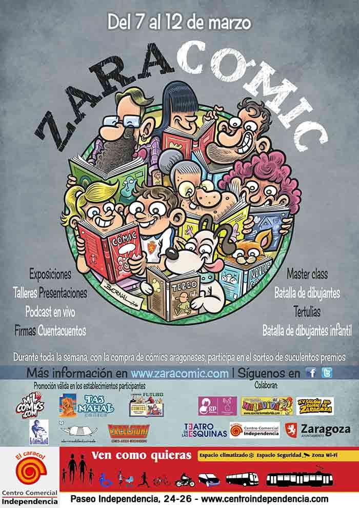 zaracomic 2017 poster